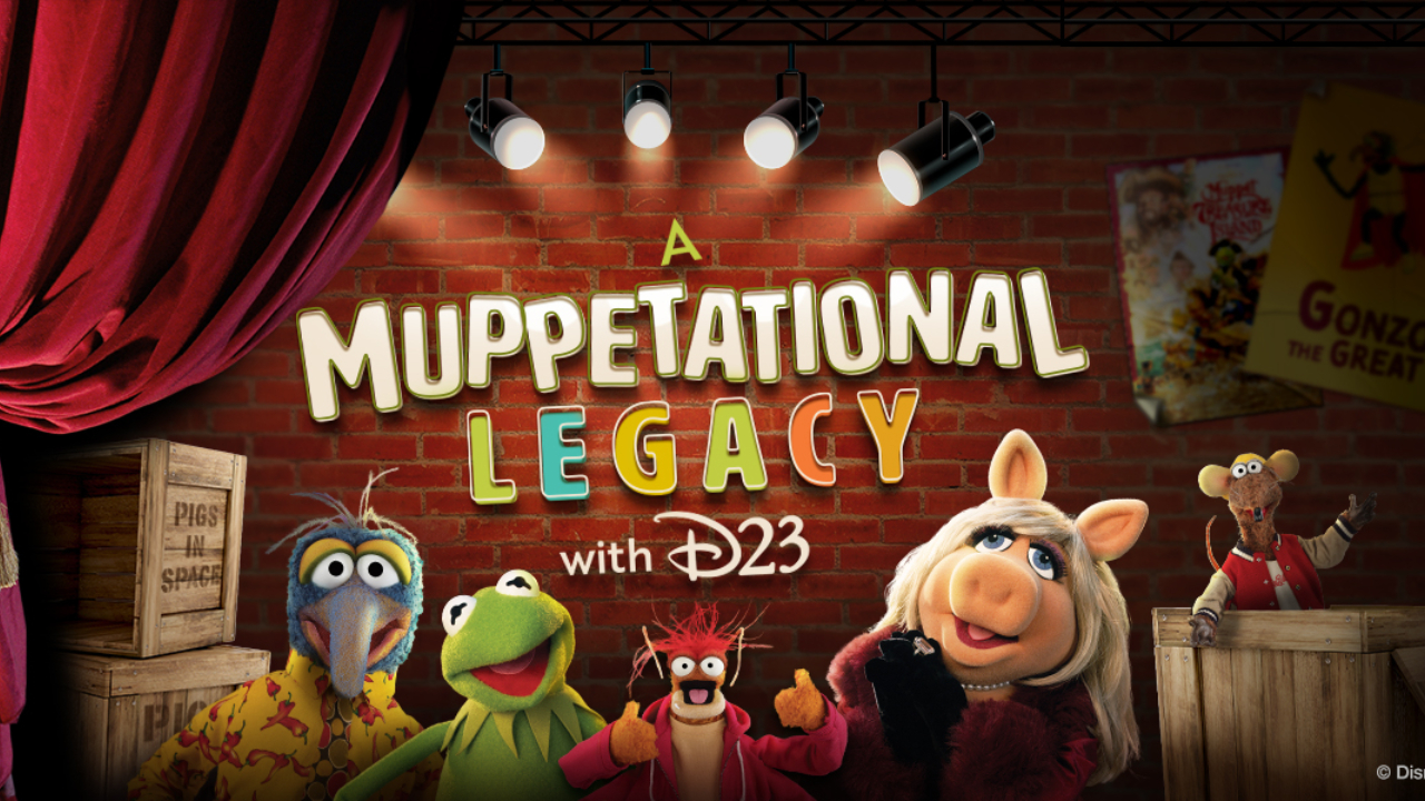 D23 Offers Muppetational Celebration Ahead of The Muppet Show Arriving on Disney+