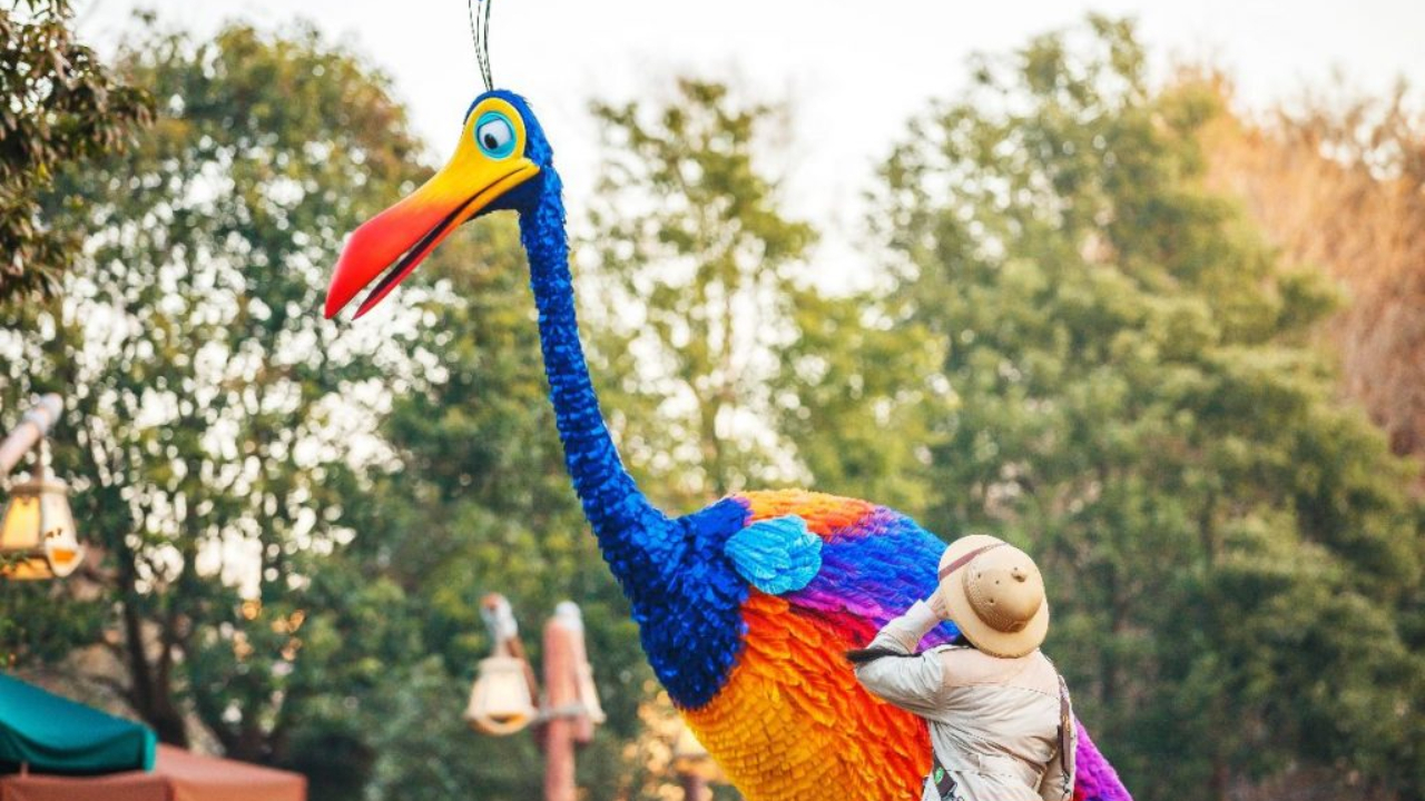 Spring into a Celebration of Color and Magic at Shanghai Disney Resort