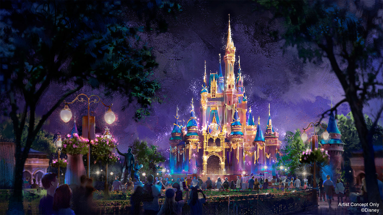 "Walt Disney World Announces ""The World's Most Magical Celebration"" Begins October 1st to Celebrate 50th Anniversary"