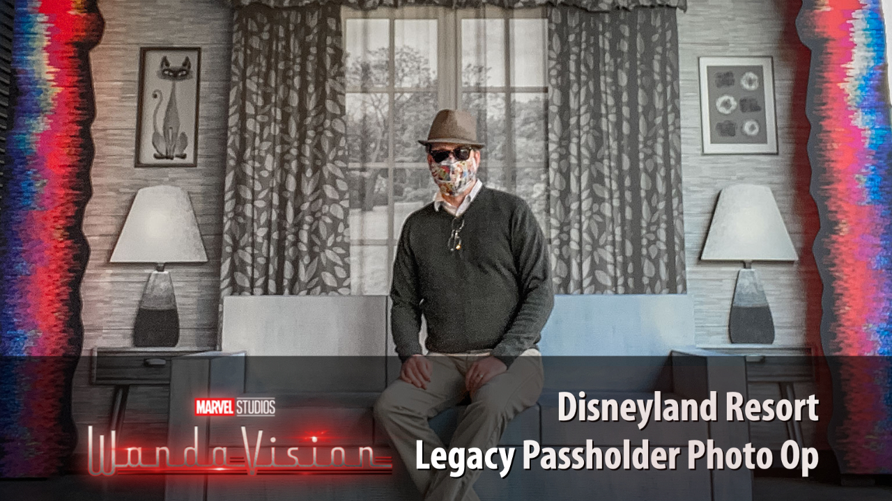 Disneyland Resort Opens New WandaVision Photo Op for Legacy Passholders